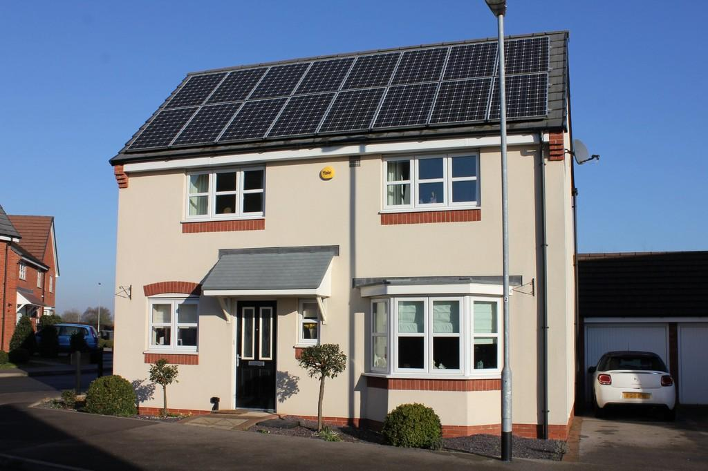 4 Bedrooms Detached House for sale in Woodroffe Way, East Leake