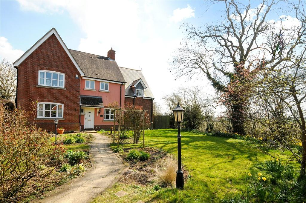 4 Bedrooms Detached House for sale in Kings Park, Chedburgh, Bury St Edmunds, Suffolk, IP29