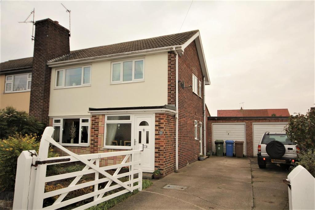 3 Bedrooms Semi Detached House for sale in Norseway, Stamford Bridge, York, YO41
