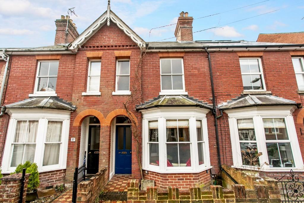 3 Bedrooms Terraced House for sale in Fairfield Road, Winchester, SO22