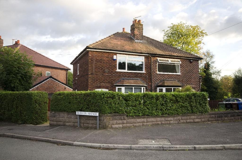 2 Bedrooms Semi Detached House for sale in Berwyn Avenue, Cheadle Hulme
