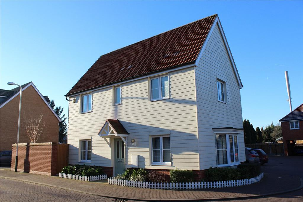 3 Bedrooms Detached House for sale in Juliette Mews, Romford, RM1