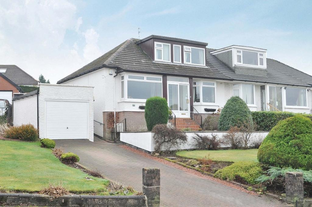 3 Bedrooms Bungalow for sale in Campsie Drive, Milngavie, East Dunbartonshire , G62 8HX