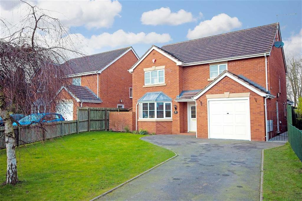 4 Bedrooms Detached House for sale in Brookside Gardens, Shrewsbury, Shropshire