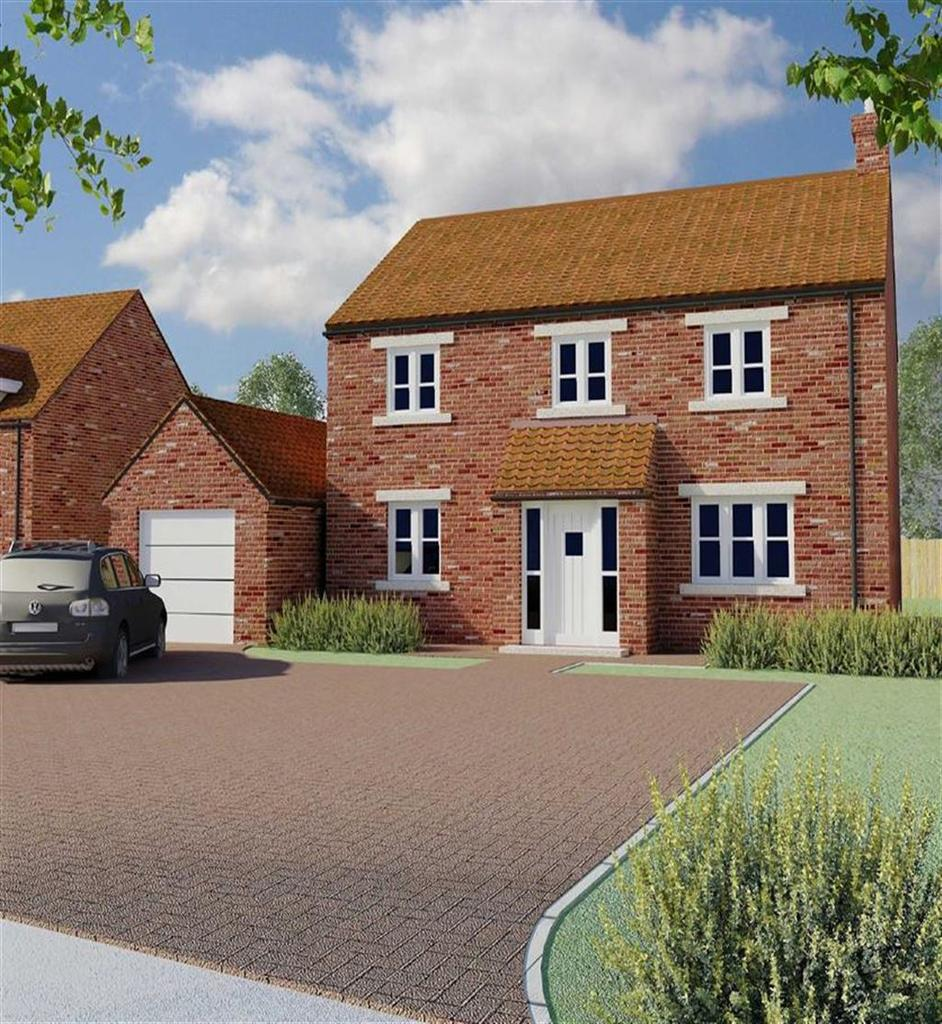Main Street Templars Garth Beeford East Yorkshire 4 Detached Full Brick Brand New Home On Wiring House To Garage Image 1 Of 5