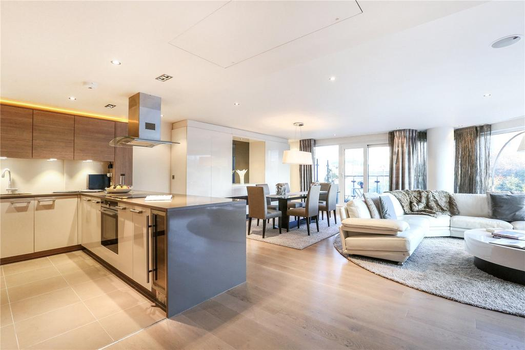 2 Bedrooms Flat for sale in Octavia House, 213 Townmead Road, London, SW6