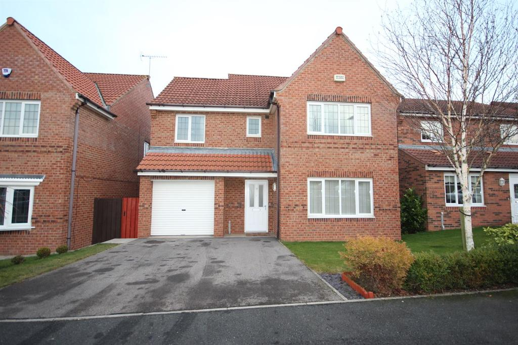 4 Bedrooms Detached House for sale in Watercress Close, Hartlepool