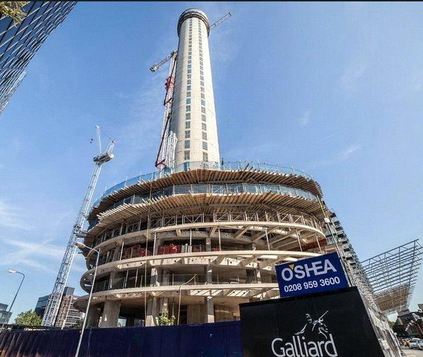 2 Bedrooms Flat for sale in Baltimore Tower, 30 Limeharbour, London, E14