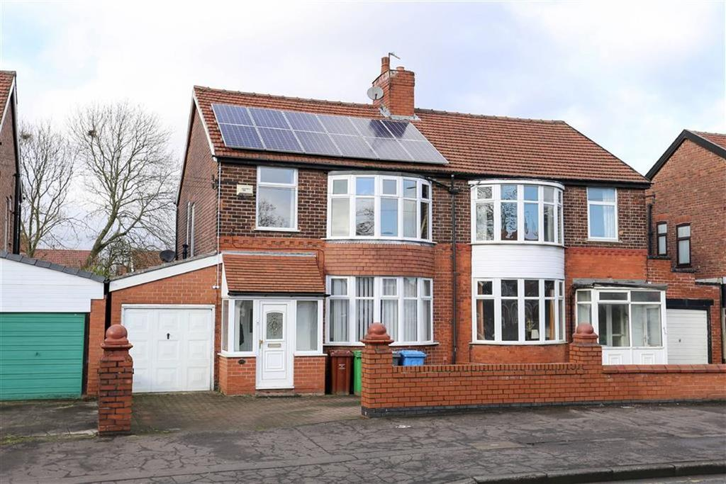 3 Bedrooms Semi Detached House for sale in Kingsway, Burnage, Manchester
