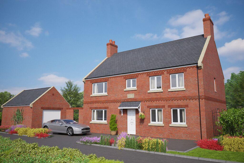 4 Bedrooms Detached House for sale in Overton On Dee