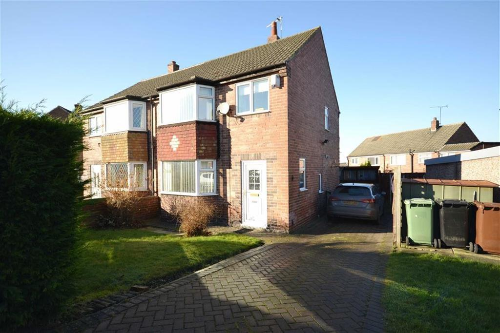 3 Bedrooms Semi Detached House for sale in Woodland Crescent, Swillington, Leeds, LS26