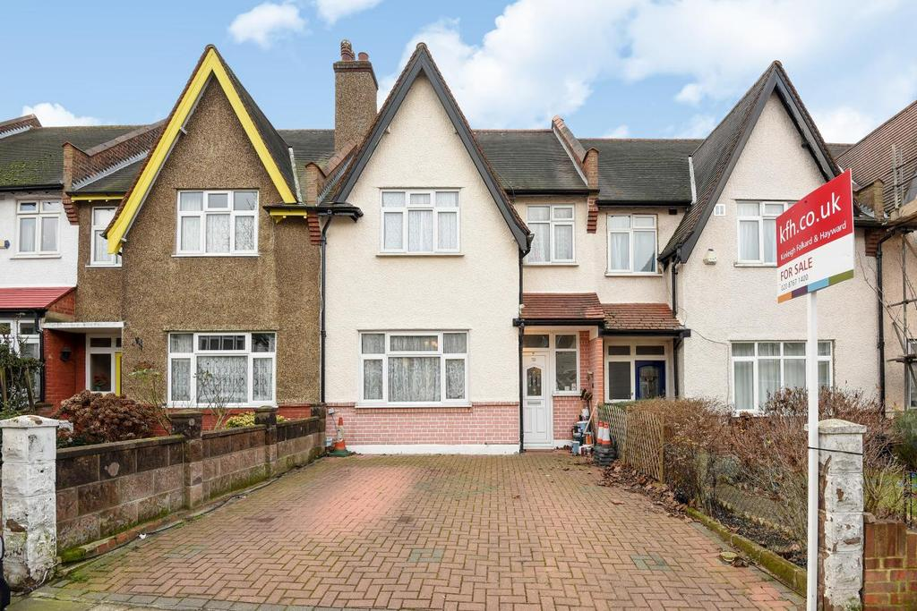 3 Bedrooms Terraced House for sale in Vectis Road, Tooting, SW17