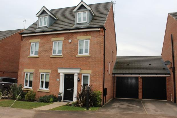 5 Bedrooms Detached House for sale in Sorrel Drive, Kirkby-in-Ashfield, Nottingham, NG17