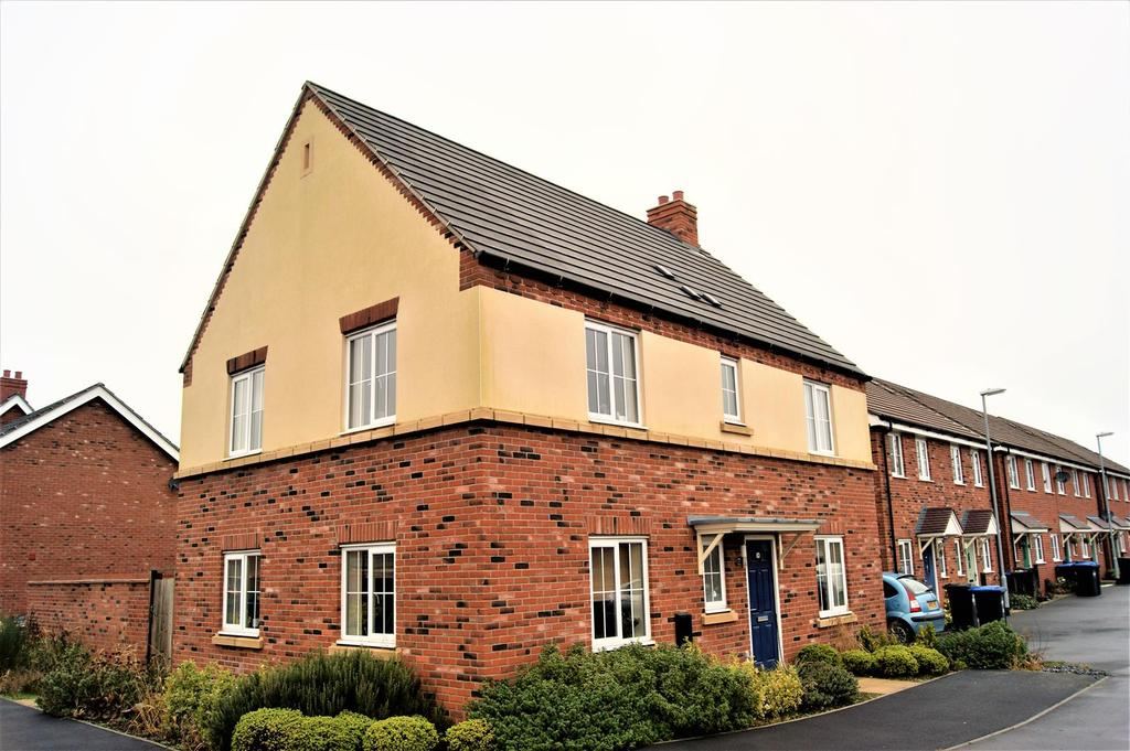 4 Bedrooms Detached House for sale in Aspen Road, Rugby