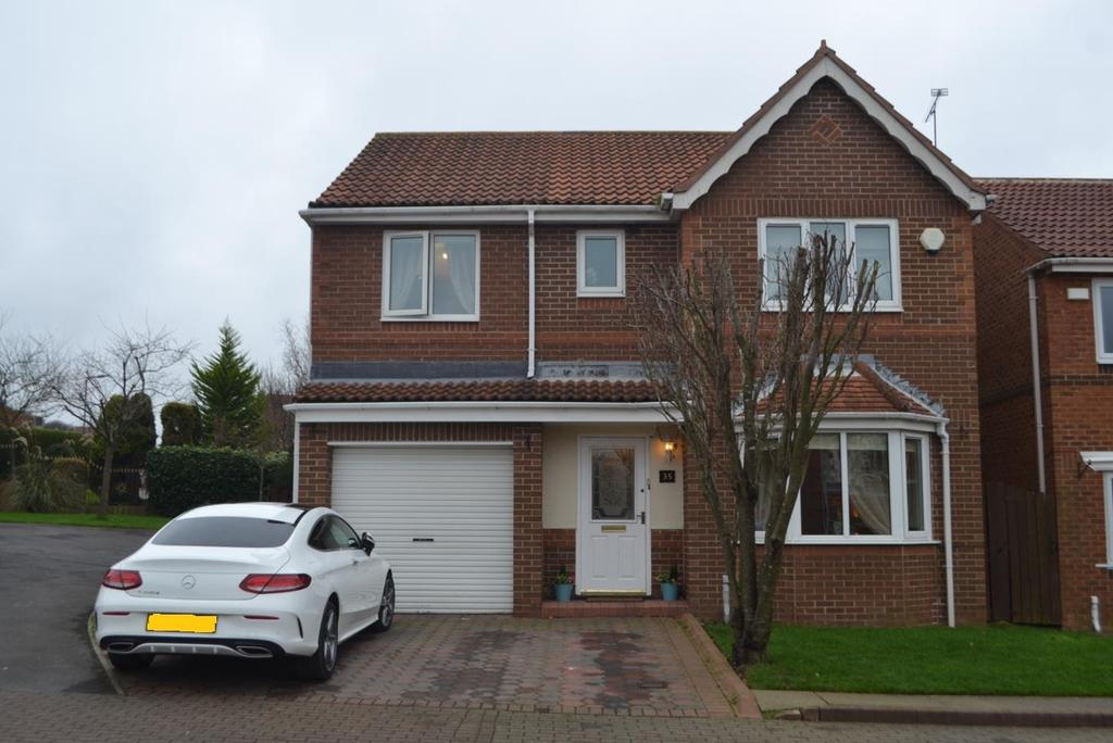 4 Bedrooms Detached House for sale in Beacon Glade, South Shields