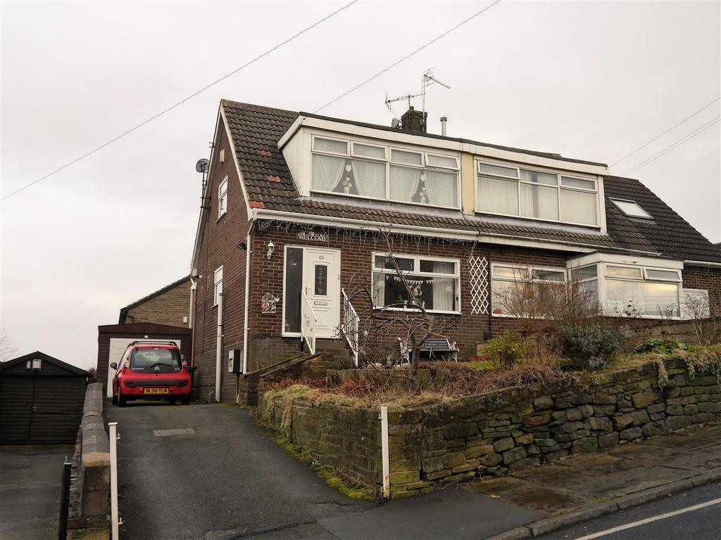 3 Bedrooms Semi Detached Bungalow for sale in Beldon Lane, Horton Bank Top, Bradford, BD7 4LF
