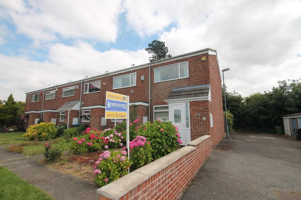 2 Bedrooms End Of Terrace House for sale in Columbine Close, Marton-In-Cleveland