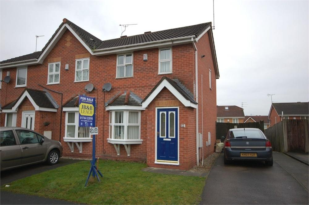 2 Bedrooms Semi Detached House for sale in Crossley Road, Toll Bar, ST HELENS, Merseyside