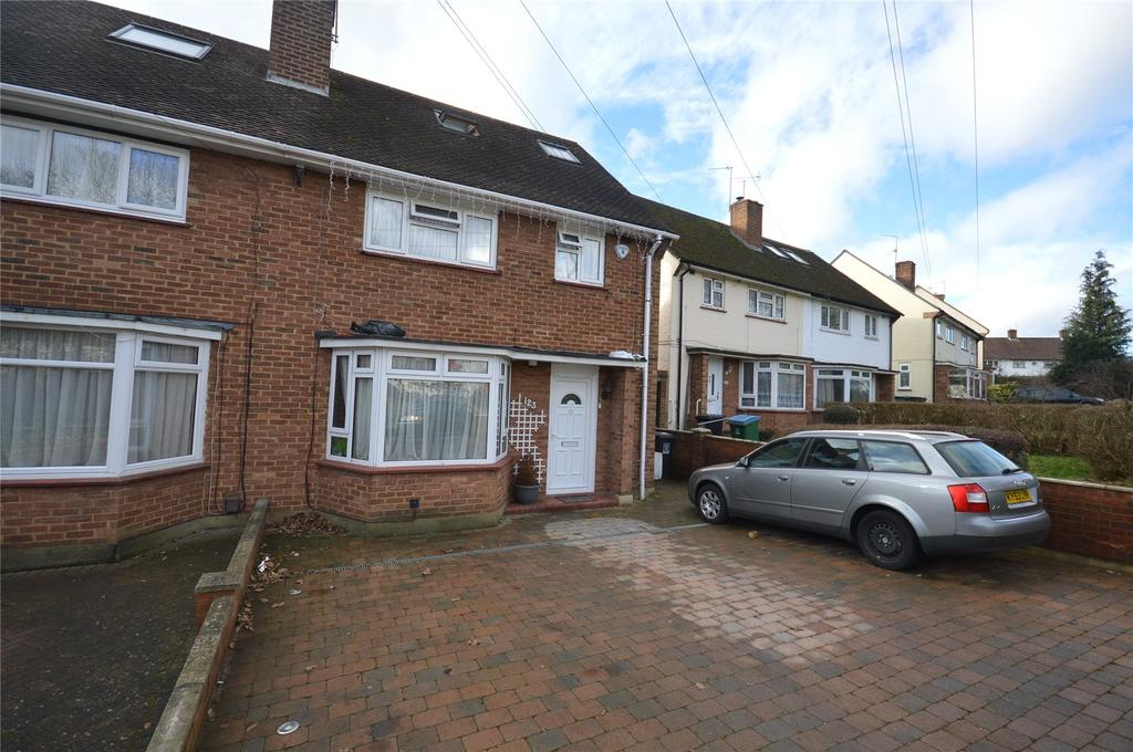 4 Bedrooms Semi Detached House for sale in Horseshoe Lane, Garston, Hertfordshire, WD25