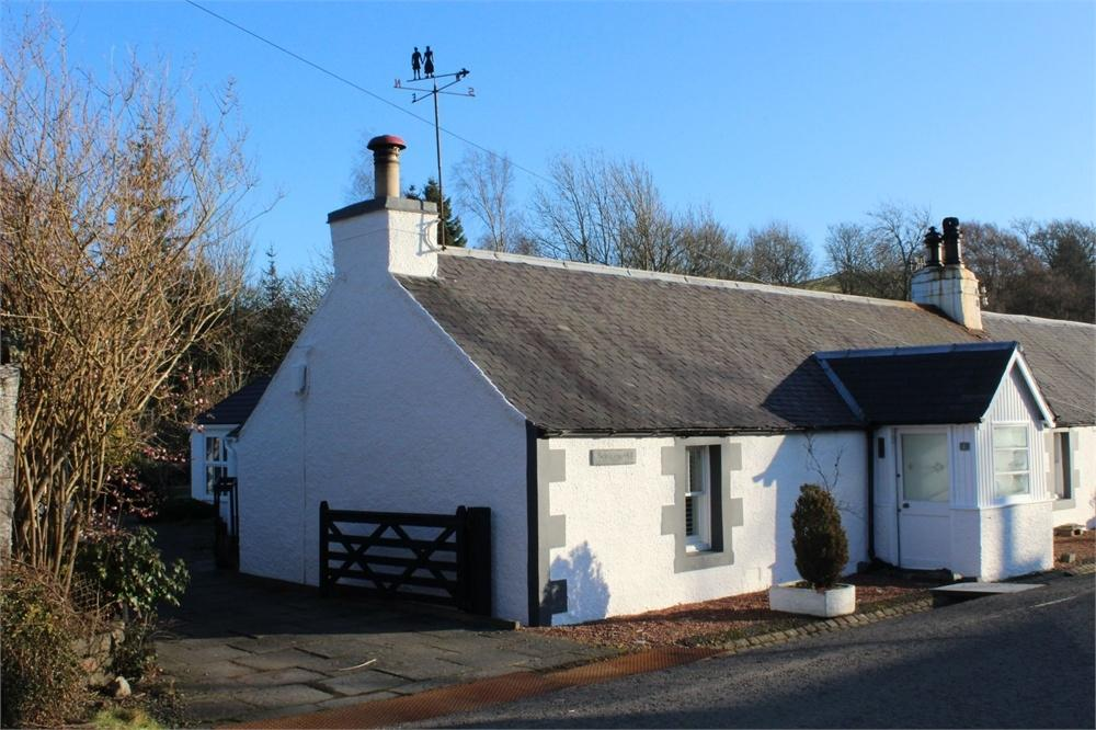 2 Bedrooms Cottage House for sale in Station Road, Eddleston, PEEBLES, Scottish Borders