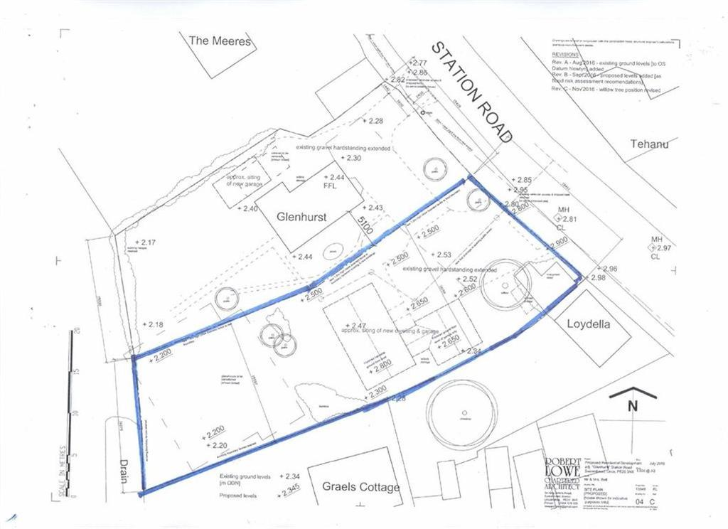 Land Commercial for sale in Station Road, Swineshead, Boston