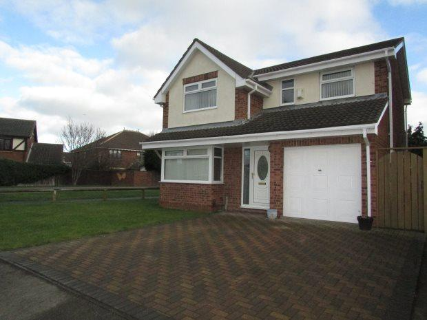 4 Bedrooms Detached House for sale in DAUNTLESS CLOSE, SEATON CAREW, HARTLEPOOL
