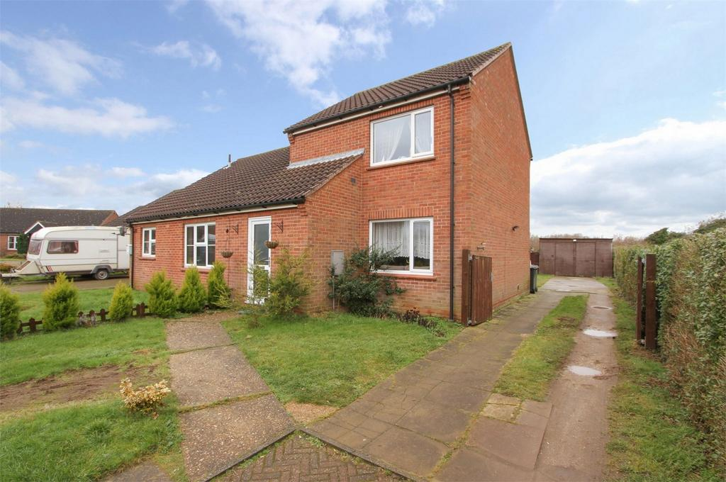 2 Bedrooms Semi Detached House for sale in Orchard Close, North Elmham, Norfolk