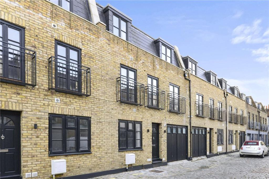 4 Bedrooms Mews House for sale in Chippenham Mews, Maida Vale, London, W9