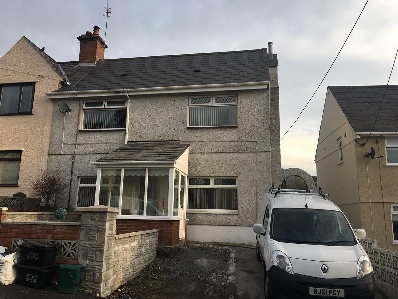 3 Bedrooms Semi Detached House for sale in Alltywerin , Pontardawe, Swansea.