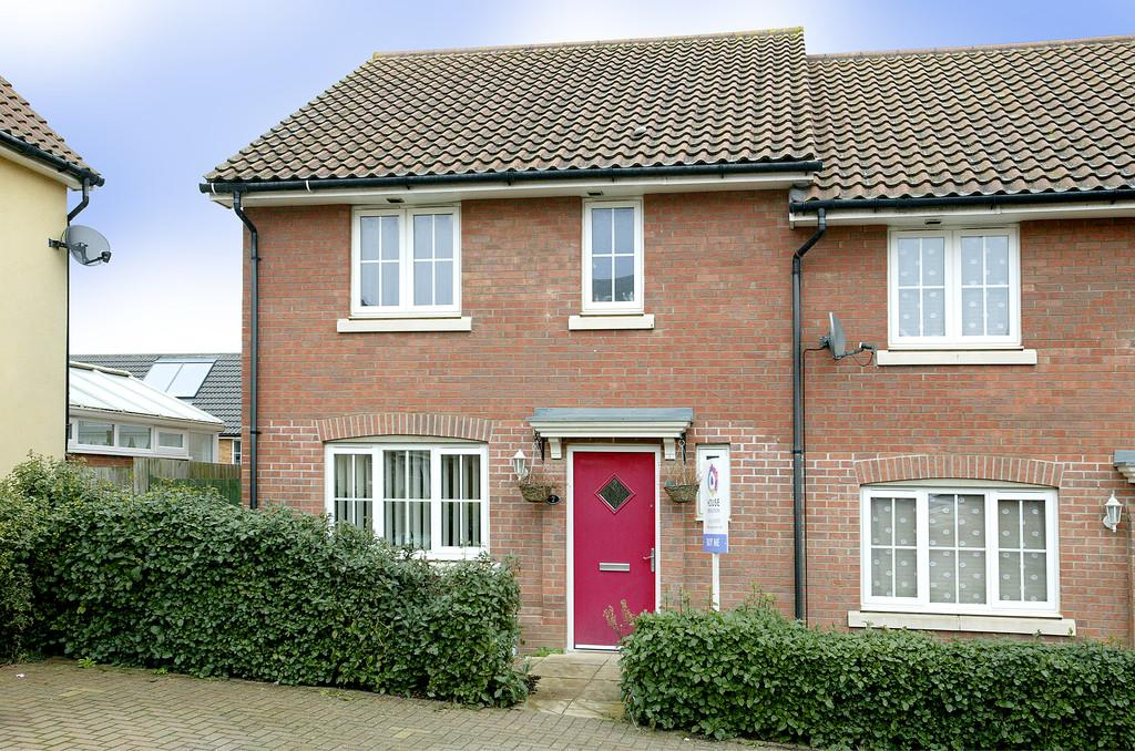 3 Bedrooms End Of Terrace House for sale in Woodpecker Way, Costessey