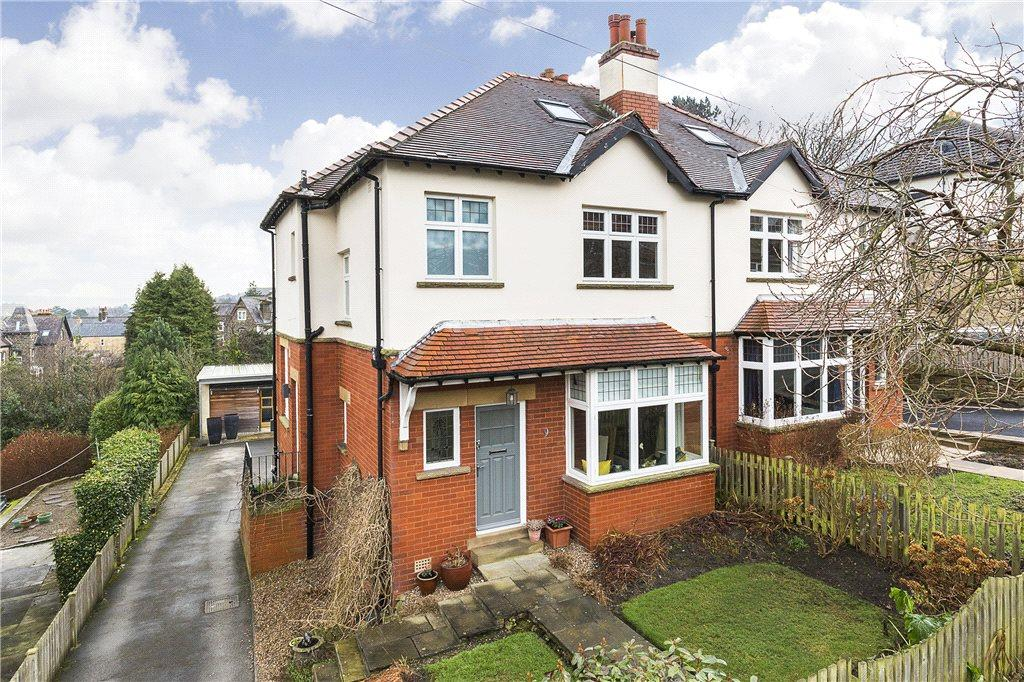 4 Bedrooms Semi Detached House for sale in Sedbergh Park, Ilkley, West Yorkshire
