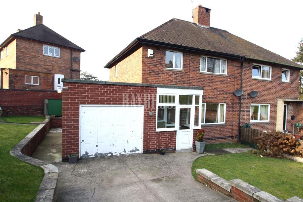 3 Bedrooms Semi Detached House for sale in Greenwood Crescent, Littledale, S9
