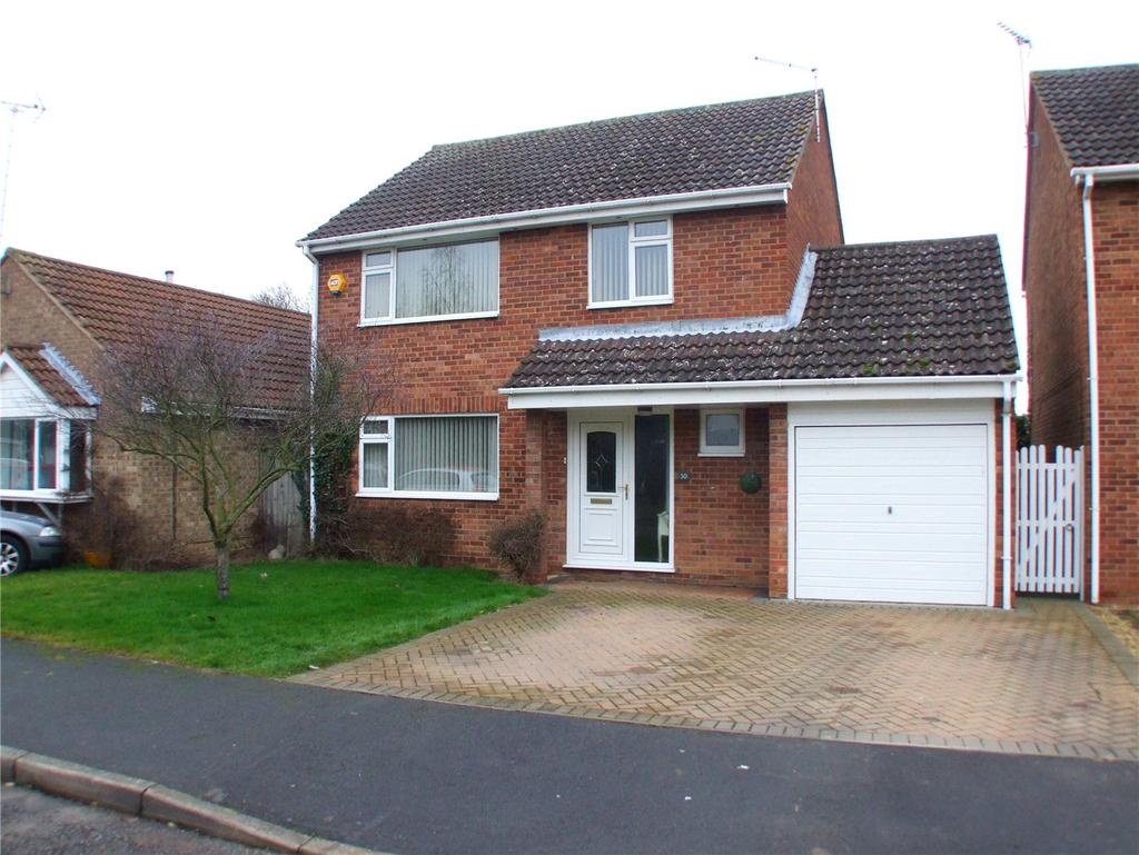 4 Bedrooms Detached House for sale in Claypole Drive, Northborough, Peterborough, Cambridgeshire, PE6