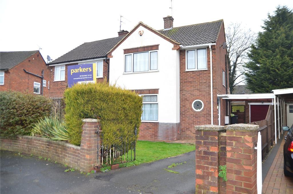 3 Bedrooms Semi Detached House for sale in St Michaels Road, Tilehurst, Reading, Berkshire, RG30