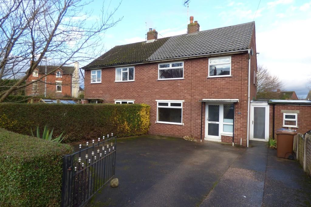 3 Bedrooms Semi Detached House for sale in Cheadle Road, Uttoxeter, Staffordshire, ST14 7BY