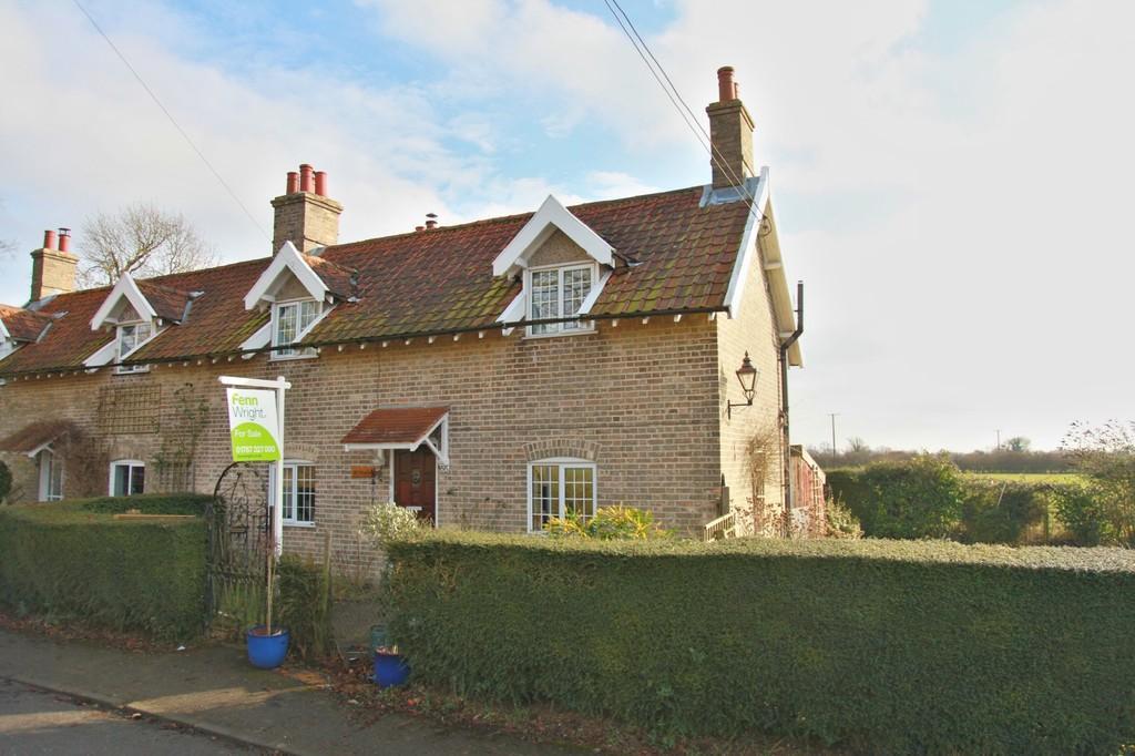 3 Bedrooms Semi Detached House for sale in The Street, Brettenham, Ipswich