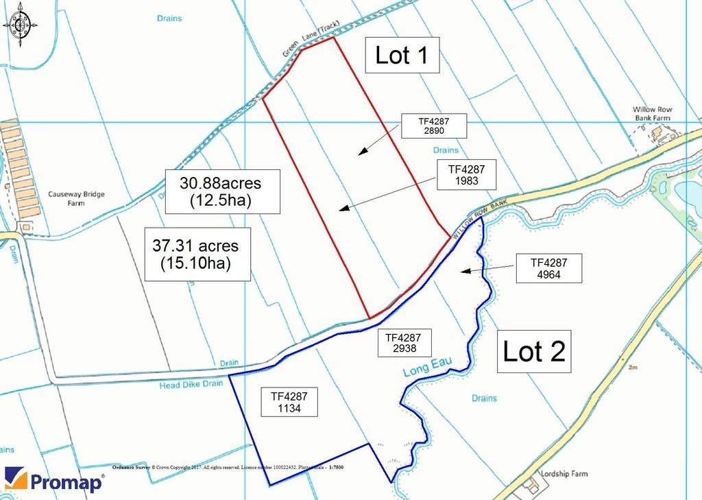 Land Commercial for sale in Saltfleetby St Peter, Louth