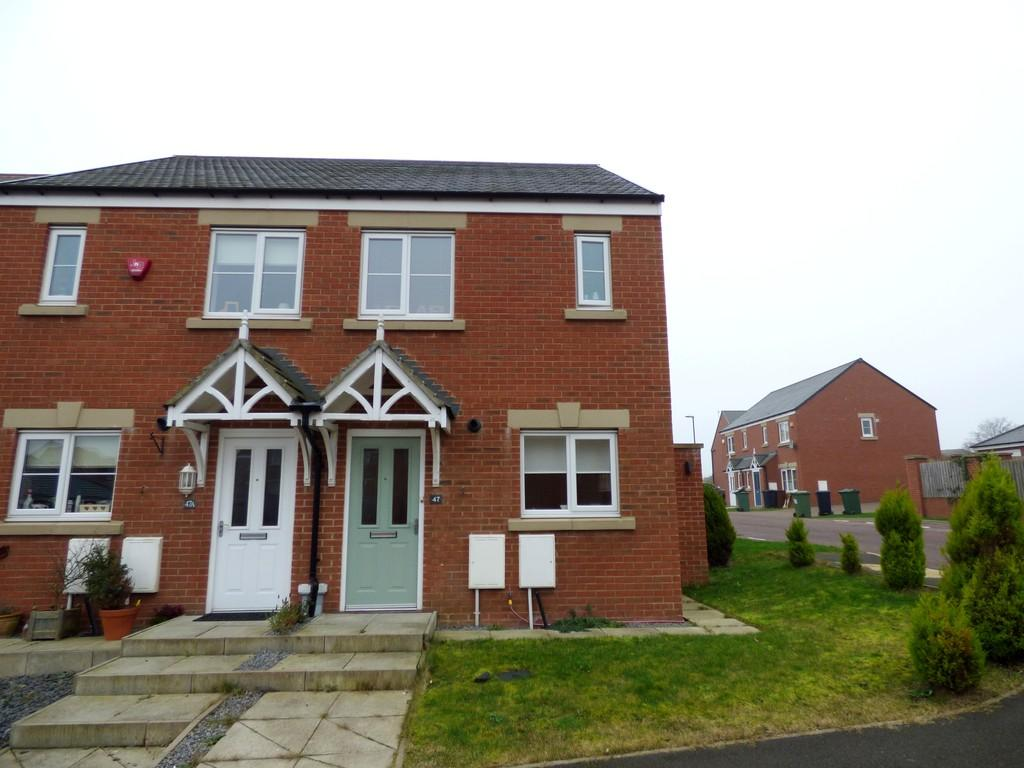 2 Bedrooms Semi Detached House for sale in Barnwell View, Herrington Burn, Houghton-Le-Spring