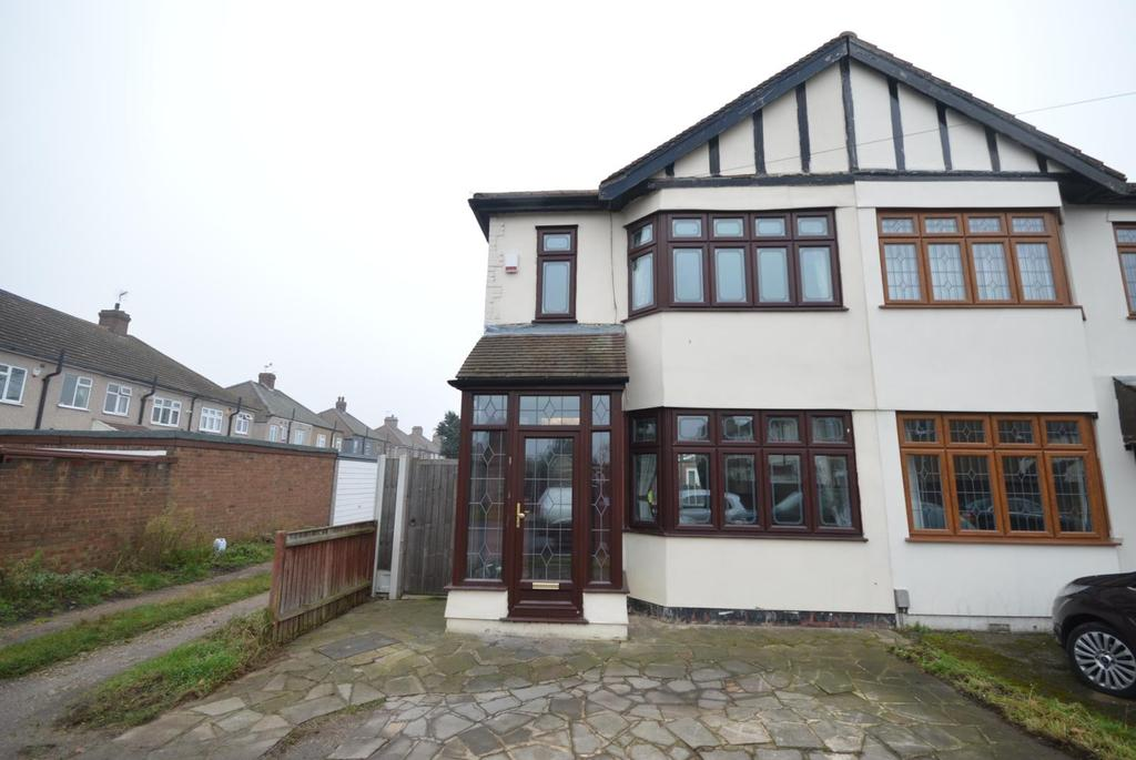3 Bedrooms End Of Terrace House for sale in Cherry Tree Close, Rainham, Essex, RM13