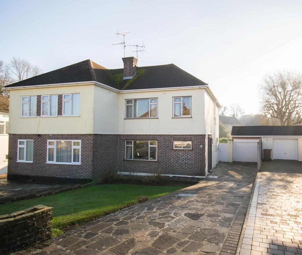 3 Bedrooms Semi Detached House for sale in Surman Crescent, Hutton, Brentwood, Essex, CM13