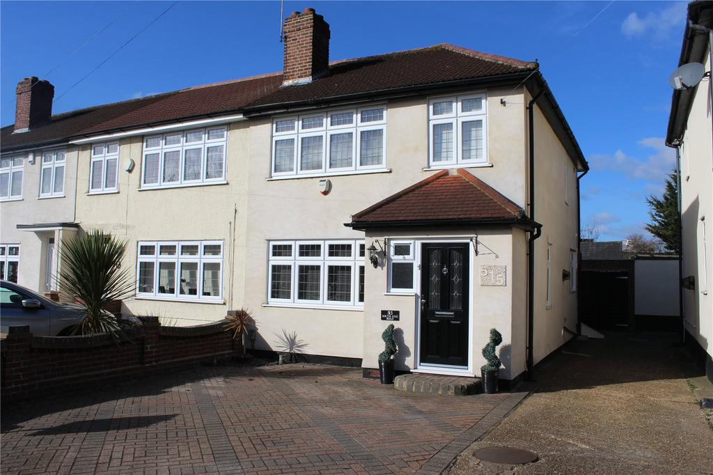 3 Bedrooms End Of Terrace House for sale in South End Road, Hornchurch, RM12