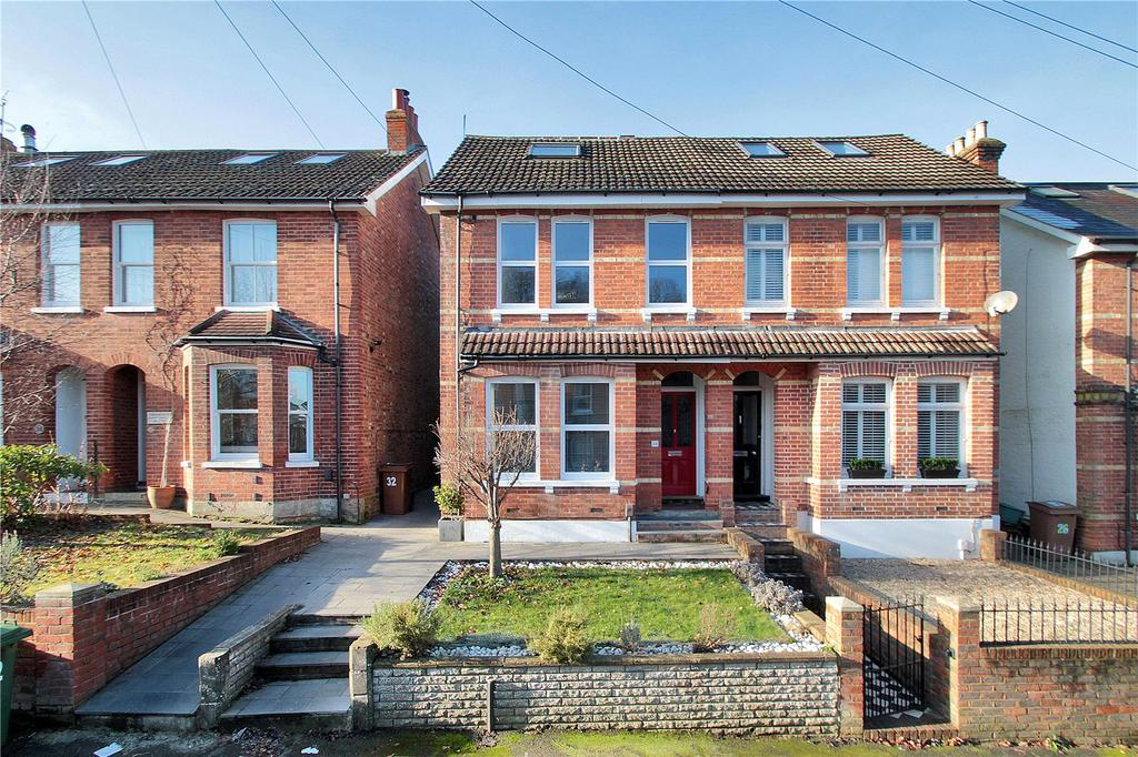 4 Bedrooms Semi Detached House for sale in St James Park, Tunbridge Wells, Kent, TN1