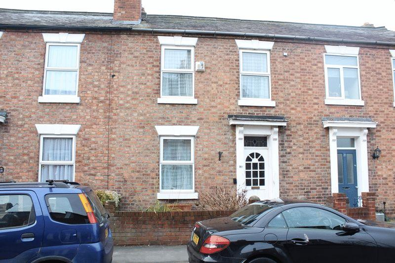 2 Bedrooms Terraced House for sale in Queen Street, Castlefields, Shrewsbury, SY1 2JX