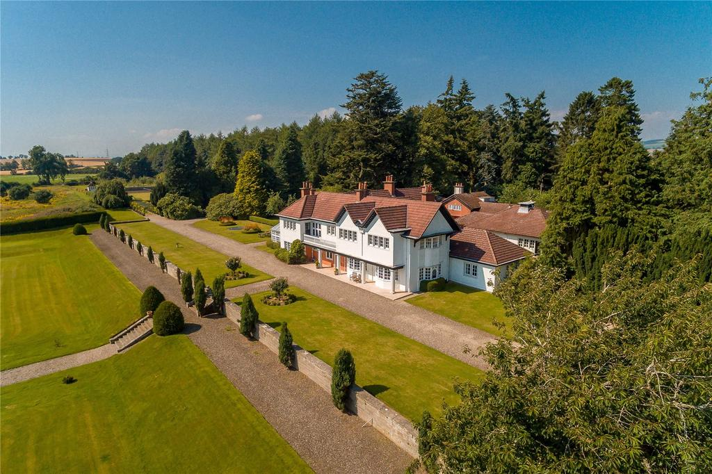 7 Bedrooms Equestrian Facility Character Property for sale in Coupar Grange House, Coupar Angus, Blairgowrie, Perthshire, PH13