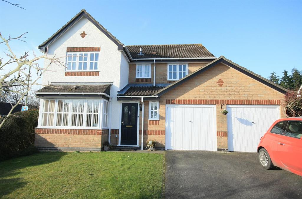 4 Bedrooms Detached House for sale in Stoke Heights, Fair Oak, Eastleigh