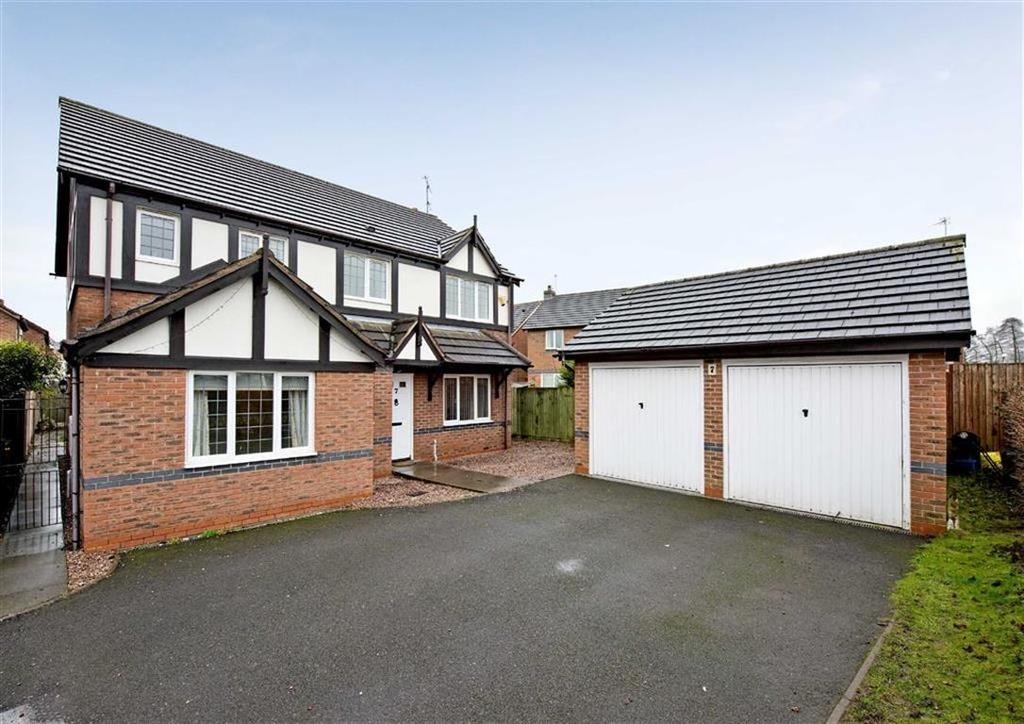 4 Bedrooms Detached House for sale in 7, Kings Bridge, Coven, Wolverhampton, South Staffordshire, WV9