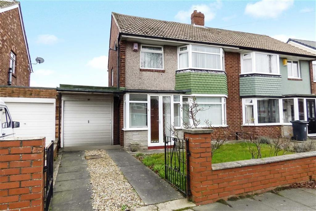 3 Bedrooms Semi Detached House for sale in Embleton Crescent, North Shields