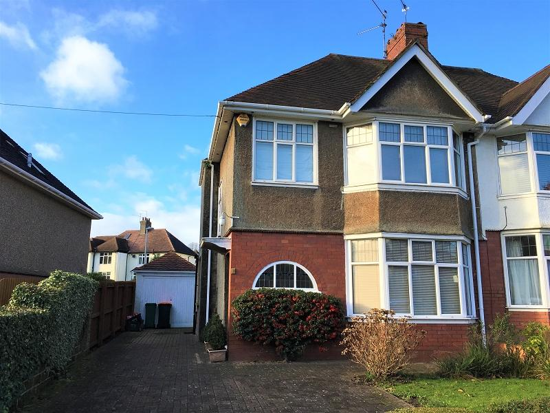 3 Bedrooms Semi Detached House for sale in Ridgeway Drive, Newport, Newport. NP20 5AR