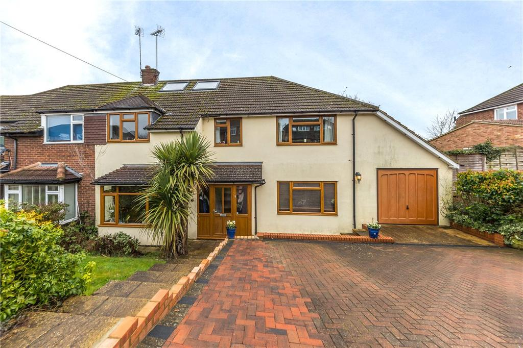 5 Bedrooms Semi Detached House for sale in Wick Avenue, Wheathampstead, St. Albans, Hertfordshire