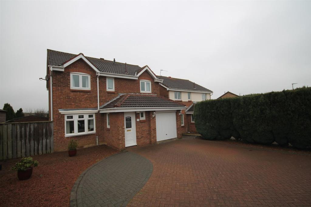4 Bedrooms Detached House for sale in Easby Close, Bishop Auckland